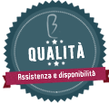 badge qualità e assistenza